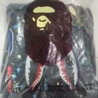 Promo hoodie bape shark space galaxi kw BUKAN KALENG Limited