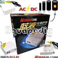 PROMO ATMAN AC/DC AIR PUMP EP-11000 TERBARU