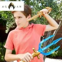 Original Dc Aquaman Deluxe Trident - Mainan Action Figure