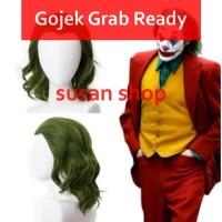 Wig Cosplay joker hijau billie eilish joaquin phoenix halloween