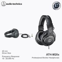 Audio-Technica ATH-M20X BLACK Profesional Headphone Monitor