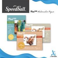 Kertas Cat Air Fluid 100 Speedball 6'x8' Watercolor Paper Blocks - Cold Pressed, 300gsm