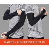 ARM SLEEVE Sepeda / Manset Tangan Olahraga Basket Futsal Lari SLIM