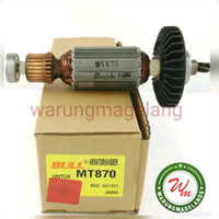 Armature BULL FOR mesin rotary hammer drill maktec mt 870 armatur mt8