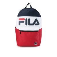 FILA Bolde Tas Ransel Sport Style Unisex - Navy/White/Red