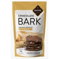 Chocolate Bark, Dark Milk Chocolate with Baguette