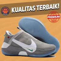 Sepatu Basket Sneakers Nike Adapt BB Air Mag Grey Pria Wanita