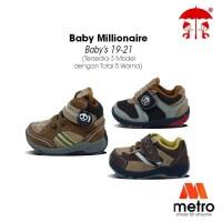 SEPATU BAYI SEPATU BALITA BABY MILLIONER BMLB 39CTSB UKURAN 19-21