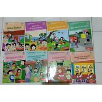 paket buku tematik sd kelas 2 tema 12345678 semester 1 2 (8 buku)