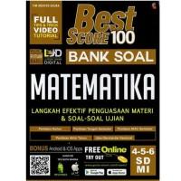 Best Score 100 Bank Soal Matematika SD/MI Kelas 456 Ready Stock Asli