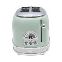 Ariete Toaster 2 Slice Vintage - Hijau