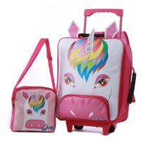 KKMFECX tas troli koper backpack anak perempuan cewek MY LITTLE PONY