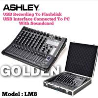 Mixer Ashley LM 8 Original Ashley LM8 Bluetooth 8 Channel