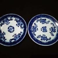 Barang Antik Piring Keramik Kuno Lukis