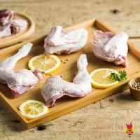 Ayam pejantan/Ayam kalasan ukuran 8ons hidup (fresh)