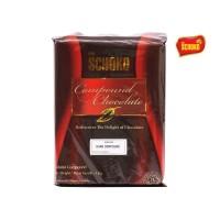 SCHOKO Dark Chocolate Compound Grande / Dark Chocolate / Cokelat Blok
