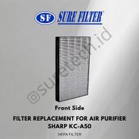 Replacement Filter for Air Purifier Sharp KC-A50 (FZ-A50DFE) SFP 50DFC
