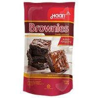 Haan Brownies Pounch 230 gr - Brownies Instan cake mix Kukus/Panggang