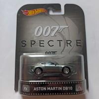 Hot Wheels Retro Aston Martin DB10 James Bond 007. Spectre. Ban Karet