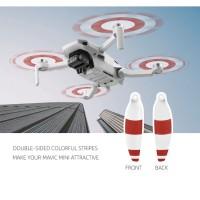 8Pcs Baling-Baling Drone Bilah Props Low Noise untuk DJI Mavic Mini