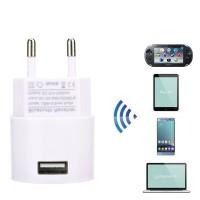 ® Adapter Receiver Bluetooth 3.5mm AUX Audio Stereo dengan Plug EU