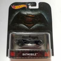 Hot Wheels Retro Batmobile Batman v Superman Justice League Ban Karet