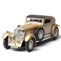 Mainan Mobil Diecast Klasik Vintage Bahan Alloy Skala 1 / 32 dengan