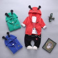 Bayi laki-laki musim gugur baju 0-1-2-3 tahun pakaian bayi Korea