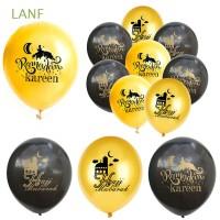 Lanf 10 / 15 / 18Pcs Balon Desain Tahun Baru Imlek untuk Hadiah