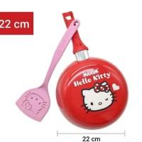 Teflon Fry Pan Maxim Hello Kitty 22 cm + Spatula