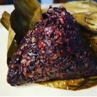 hoot sale bacang nasi hitam pork terjamin