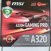 hoot sale motherboard msi a320m gaming pro (paket 3pcs) terjamin