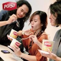 Hot Bakso Cup Popso - Bakso Sehat - Bakso Siap Saji - Bakso Kereta -