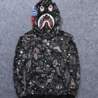 Unik Promo hoodie bape shark space galaxi kw BUKAN KALENG Diskon