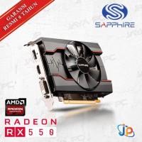 Terlaris ! VGA Sapphire Pulse Radeon RX 550 2GB - RX 550 2 GB DDR5