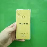 VIVO Y91 anticrack case soft case anti crack