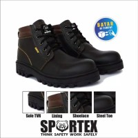 safety boot by sportex sepatu safety pria termurah from bandung