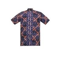 Batik Aksen Tropis Najmi Short Sleeve