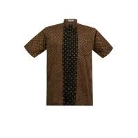Batik Aksen Tropis Danish Short Sleeve