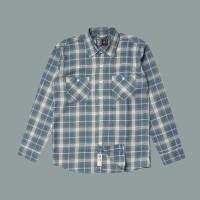 Kemeja Flanel Lengan Panjang Monochrome LS Giovane Shirt