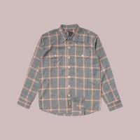 Kemeja Flanel Lengan Panjang Monochrome LS Ovane Shirt