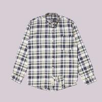 Kemeja Flanel Lengan Panjang Monochrome LS Vit Flanel Shirt
