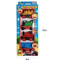 Mainan Kereta Thomas 4 pcs Plastik No.311