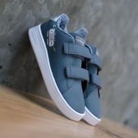 Sepatu Anak Original Adidas Neo Advantage Toodler Grey Four White
