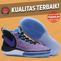 Sepatu Basket Sneakers Nike Alphadunk Fab Five Purple Black White Pink