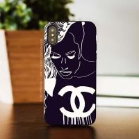 CASE CUSTOM /SAMSUNG S20/SAMSUNG SERIES/OPPO/VIVO/Chanel Girl Art