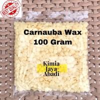 Carnauba Wax IMPOR / Bahan Pengkilap Mobil Sepatu Tekstil 100 gr