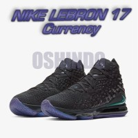 Sepatu Basket Nike Lebron 17 Currency Original Asli