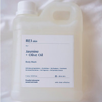 1 Litre Jasmine and Olive Oil Body Wash