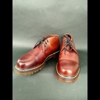 sepatu boots dr martens docmart dokmart 3 hole whitestitch